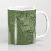 Enthusiastic Wolf Mug