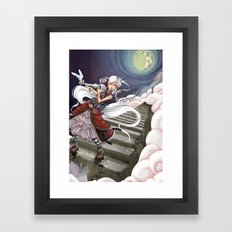 Those Crazy Stairs Framed Art Print