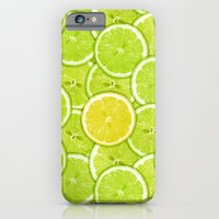 iPhone & iPod Case featuring LIME AND LEMON by Ylenia Pizzetti