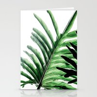 Leaves 2 Stationery Cards