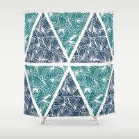 Geometric Paradise Shower Curtain