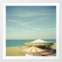 Fair by the Sea Art Print