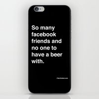 So Many Facebook Friends… iPhone & iPod Skin