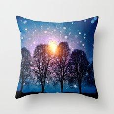 Sounds of winter - HOLIDAZE Throw Pillow