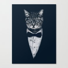 Mr Cat Canvas Print