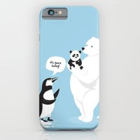 How little Pandas are born iPhone 6 Slim Case