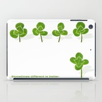 Sometimes different is better. iPad Case