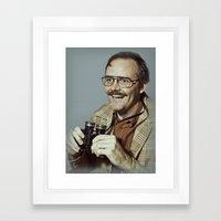 i.am.nerd. :: danforth f. Framed Art Print
