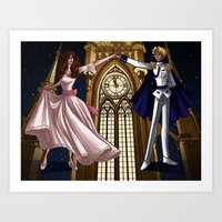 Cinderella - Before Midnight Art Print