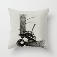 Pilgrim I. Throw Pillow