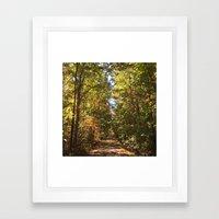 #IntoForever Framed Art Print