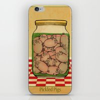 Pickled Pig Revisited iPhone & iPod Skin