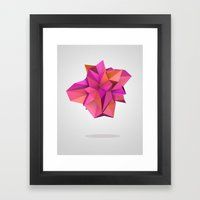 Pink Like Orange Framed Art Print