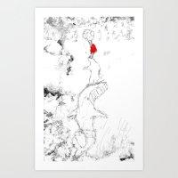 Nanook And Id Helping Se… Art Print