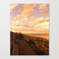 Way to The Infinity Canvas Print