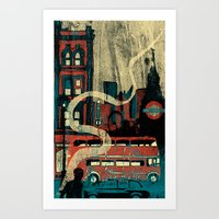 london Art Prints featuring London  by Peter Coleman