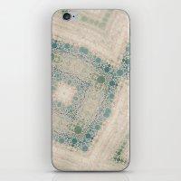 Sea Glass II Abstract Mo… iPhone & iPod Skin