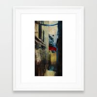 Winter Rust Framed Art Print