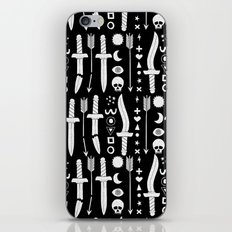 DUNGEON WEAPONS iPhone & iPod Skin
