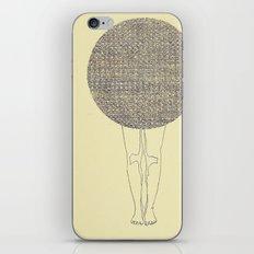 ballad legs iPhone & iPod Skin