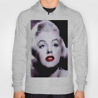 Marilyn In Black And Whi… Hoody