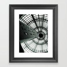 Central Shot Framed Art Print