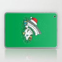 The Santa Shark Laptop & iPad Skin