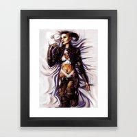 Mass Effect - Jack Framed Art Print