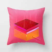 Toast: Facebook Shapes &… Throw Pillow