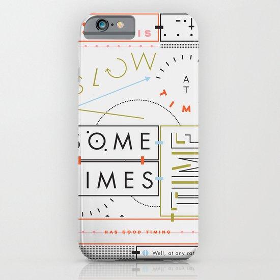 Haikuglyphics - Thyme iPhone & iPod Case