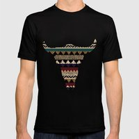 Sienna BISQUE Mens Fitted Tee Black SMALL
