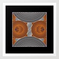 Modern Aboriginal Art Print