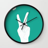 Music Signs : Pop (1/3) Wall Clock
