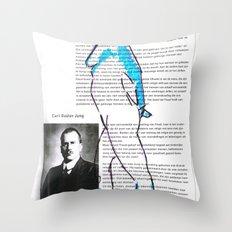 Carl Gustav Jung – Nude.1 Throw Pillow