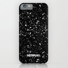 Retro Speckle Print - Black Slim Case iPhone 6s
