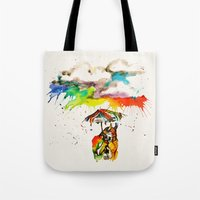 Went For A Walk Tote Bag