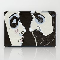 Two People iPad Case