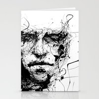 fire Stationery Cards featuring lines hold the memories by agnes-cecile