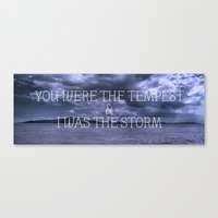 The Nine Year Tide Canvas Print
