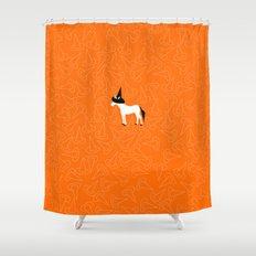 Witch Hat Unicorn Shower Curtain