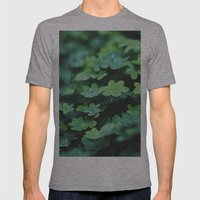 Clovers Mens Fitted Tee Athletic Grey SMALL