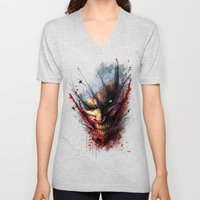 Madness is the Emergency Exit Unisex V-Neck