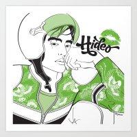 Cartoon Boyfriend© : Hi… Art Print