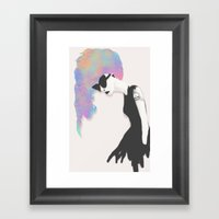 Modern Society Framed Art Print