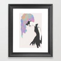 Modern Society Framed Art Print