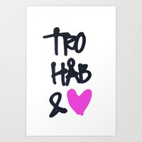 Tro Art Print