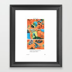 POP HELL #1 Framed Art Print