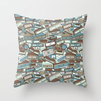 Drawers Throw Pillow