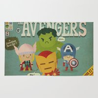 Avengers Fan Art Rug