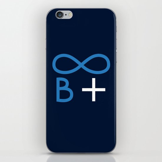 Always be positive iPhone & iPod Skin